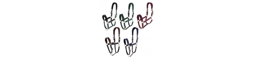 HEADCOLLARS AND LEAD ROPES