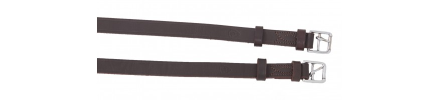 Spanish and Portuguese stirrup leathers